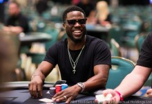Комикът Кевин Харт участва в покер турнир на Бахамите